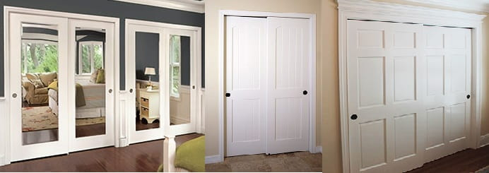 Sliding Closets Bypass Bi Fold Door Systems I Custom Fit Solutions