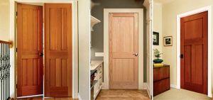 Natural Wood Interior Doors I Custom Fit Solutions on